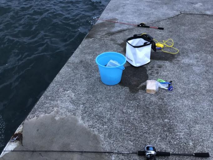 2019/08/19 伊勢海老釣りに行ってみた♪