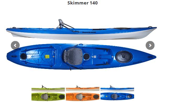 Hurricane Kayaks(ハリケーンカヤックス)スキマー140