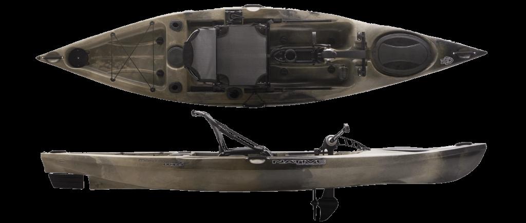 Native Watercraft(ネイティブウォータークラフト)マンタレイ プロペル12 アングラー