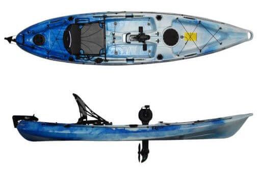 Riot Kayaks(ライオット カヤックス)マコ12 インパルスドライブ