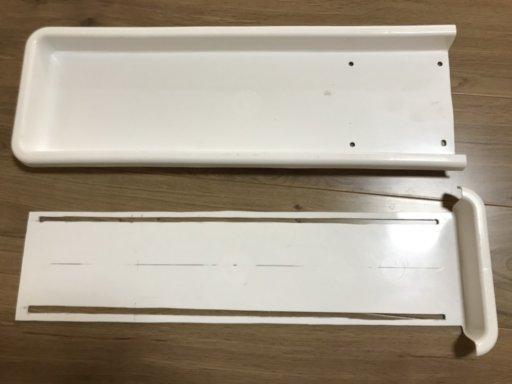 90cm測れるスライド式プランタートレイメジャーを自作♪