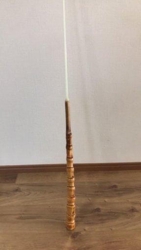 布袋竹とグラスソリッドで伊勢海老竿を作ろう♪【布袋竹とグラスソリッドの接着編】