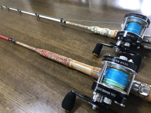 布袋竹とグラスソリッドで伊勢海老竿を作ろう♪【海老竿2本追加 ブランク元径9mm編】